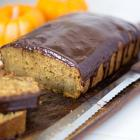 Pumpkin Banana Bread with Ganache
