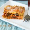 Slow-Cooker Vegetarian Lasagne
