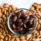 Cherry Dark Chocolate Almonds with Sea Salt