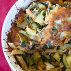 Kale and Zucchini Baked Ziti