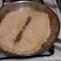 pan crusted swai