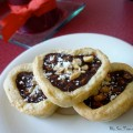 chocolate hazelnut tartlett