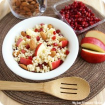 couscous apple pomegranate salad