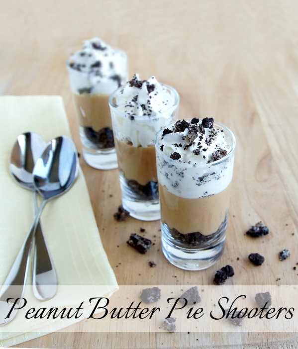 Peanut Butter Pie Shooters