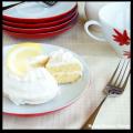 mini lemon cake slice