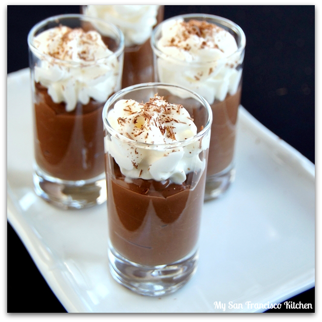 Low Fat Dark Chocolate Mousse