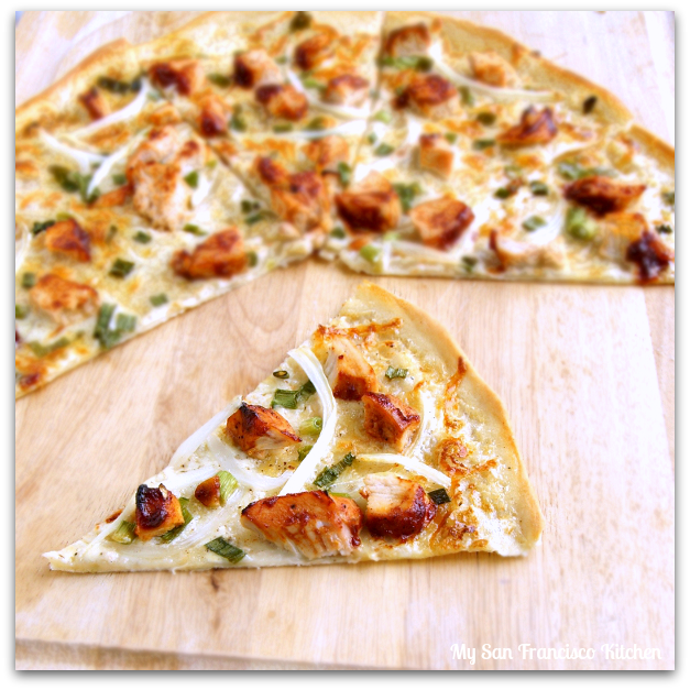 Thin Crust Bbq Chicken Pizza