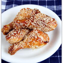 Asian Sesame Chicken Drumsticks