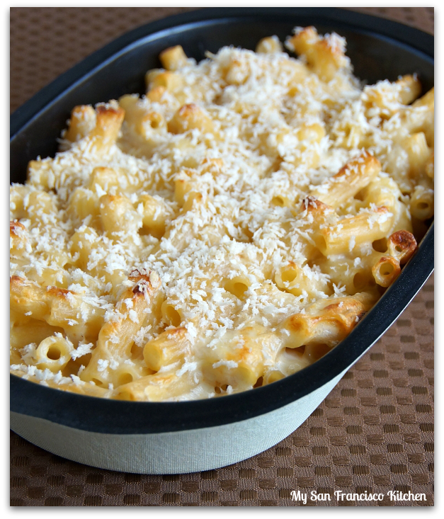Baked White Cheddar Mac and Cheese