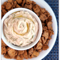 lemon rosemary bean dip