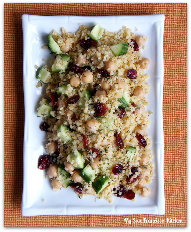 bulgur cranberry salad