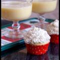 eggnog cupcakes