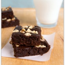 banana-brownies
