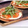margherita pizzette