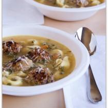 chicken sausage noodle soup