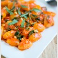 roasted red pepper gnocchi