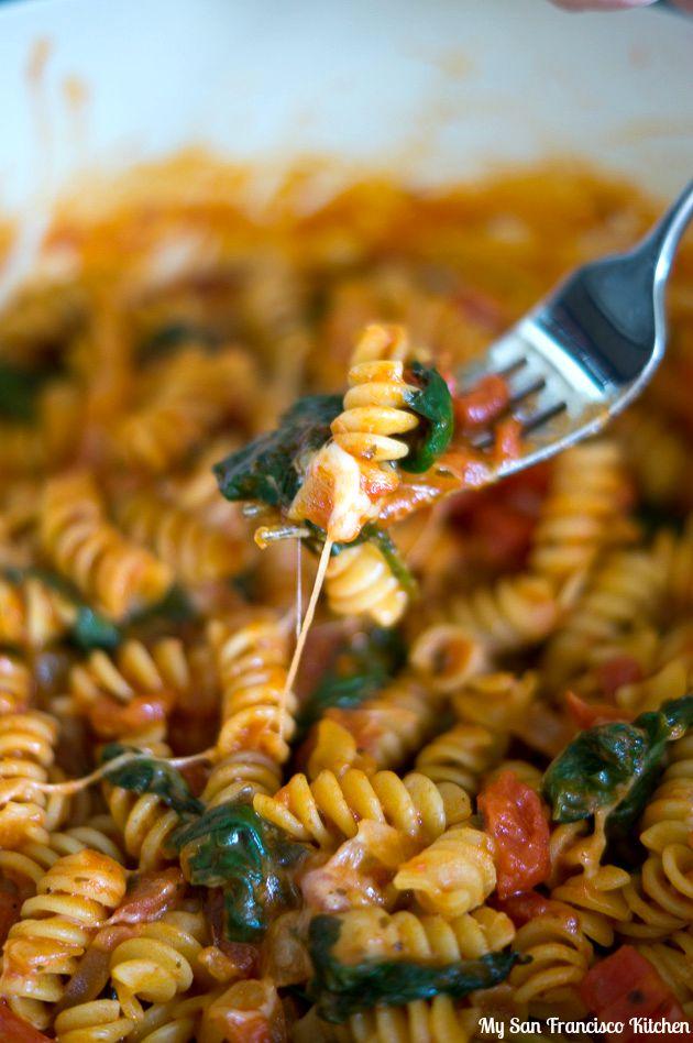 one pot pasta bite