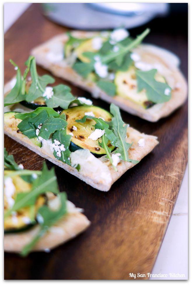 zucchini-flatbread