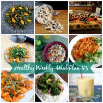 Healthy weekly meal plan 3
