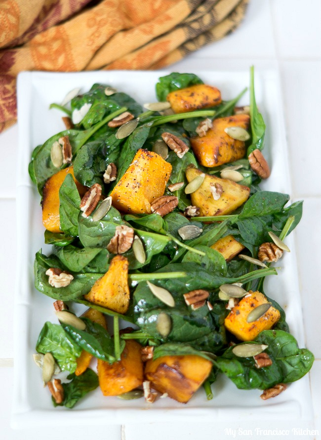 Fall Pumpkin Salad