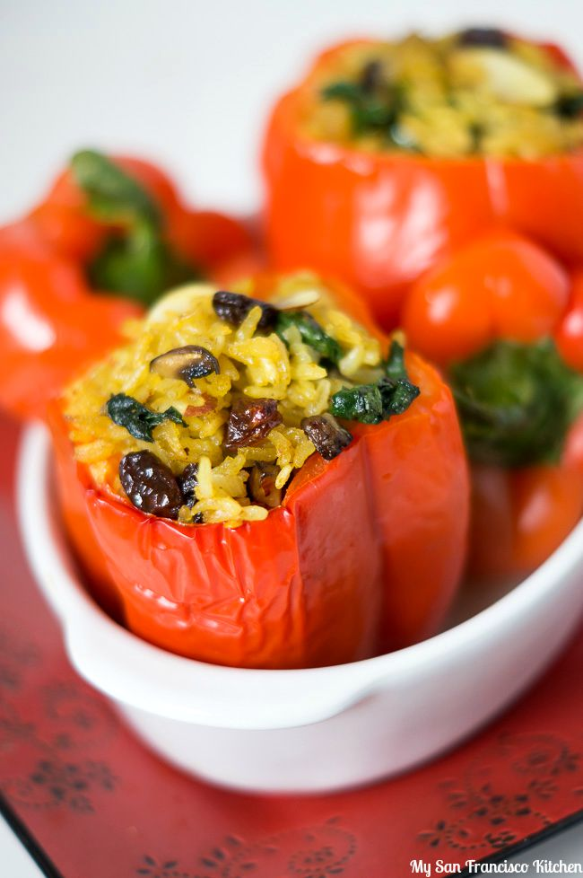 Thai Stuffed Peppers
