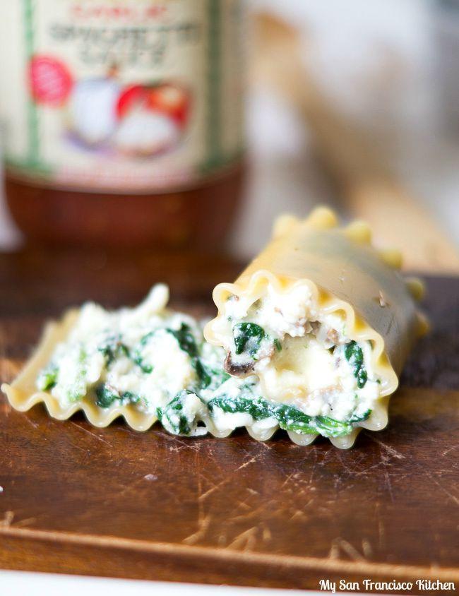 Vegetarian Lasagna Rollup