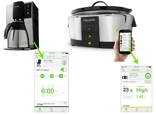 WEMO applicances