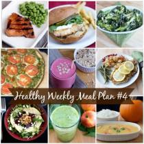 Healthy Weekly Meal Plan 4