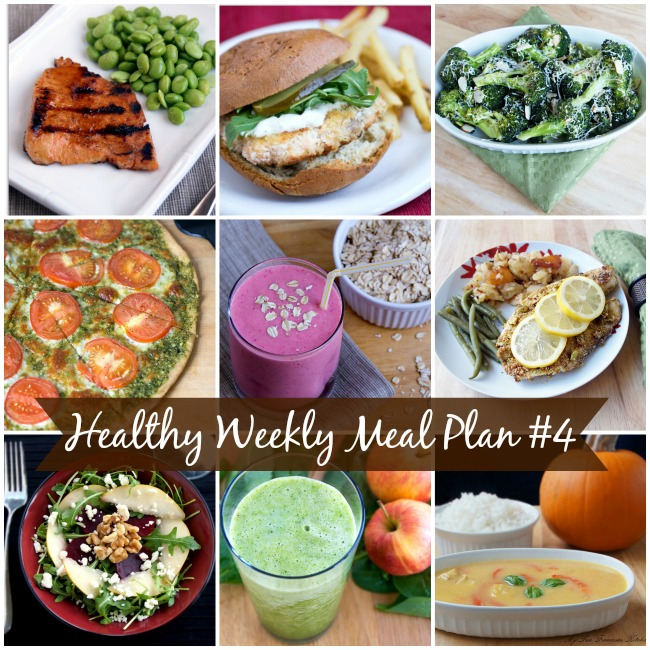 Healthy Weekly Meal Plan 4