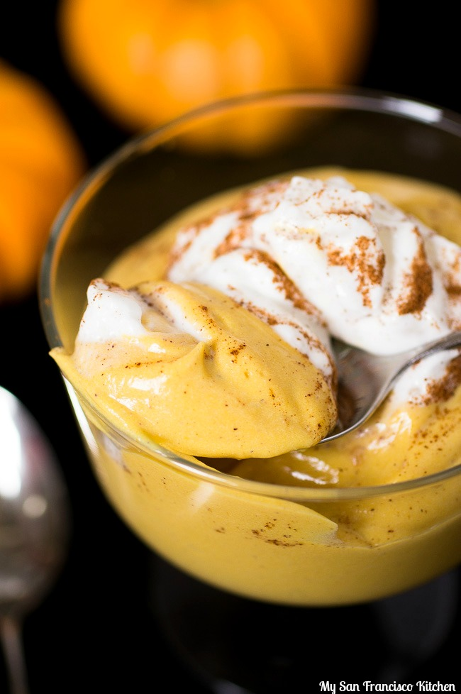 Vegan Pumpkin Mousse Bite