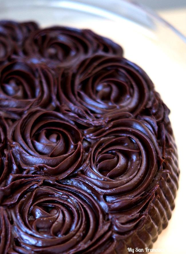 Chocolate Ganache Roses