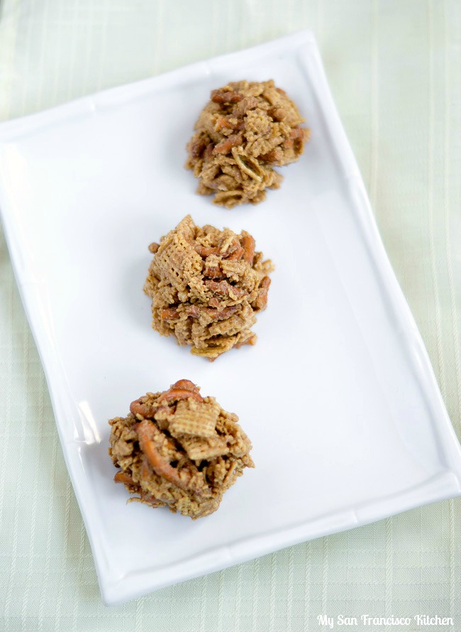 chex peanut butter balls