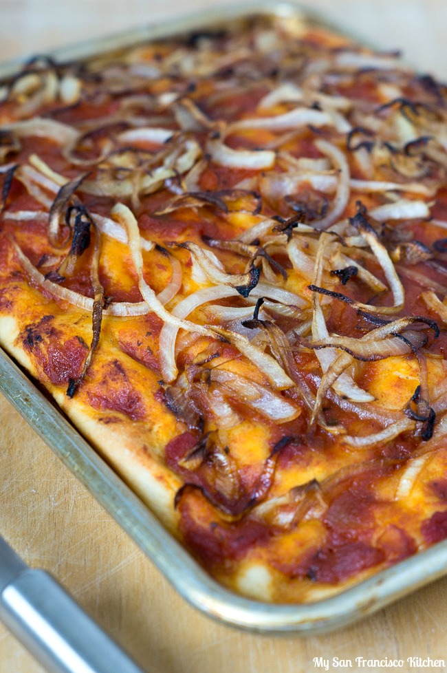 Balsamic Caramelized Onion Focaccia