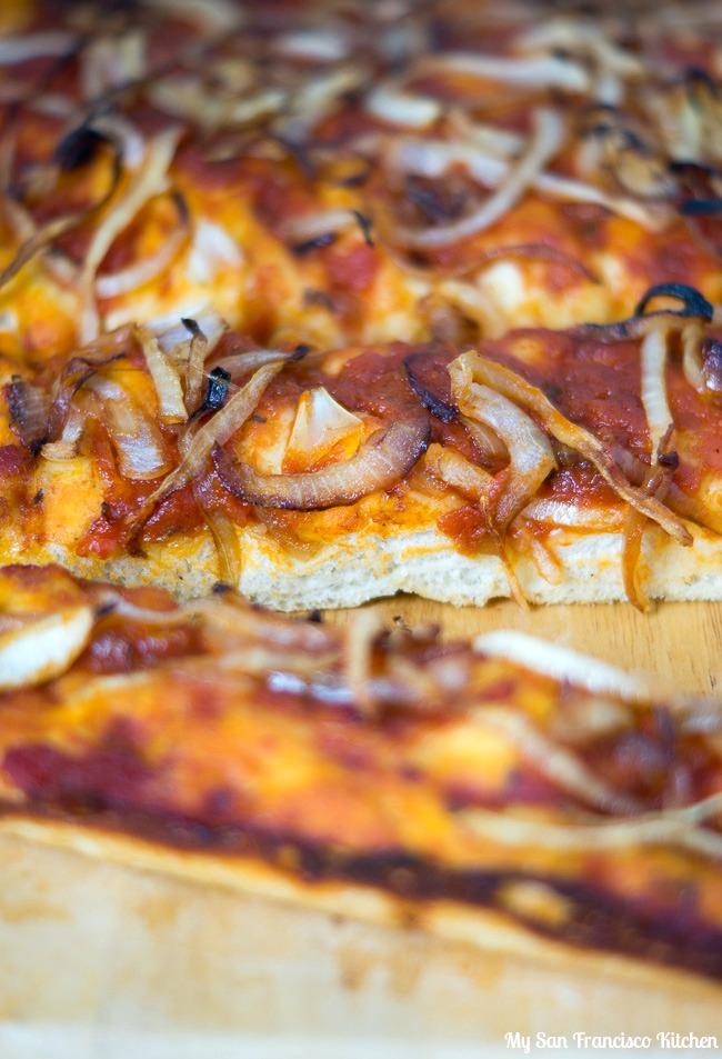 Balsamic Caramelized Onion Focaccia