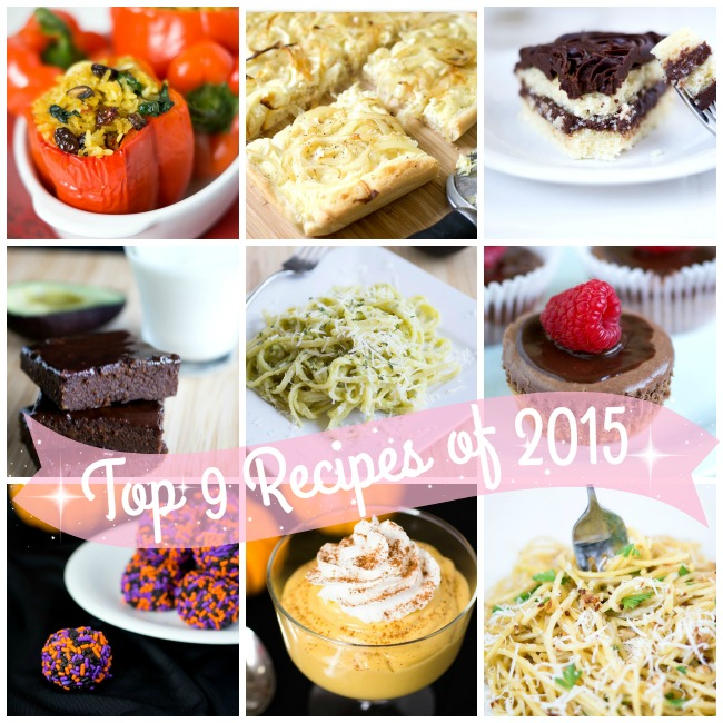 Top Recipes 2015