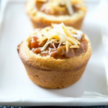 Chili Cornbread Bowl