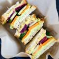 Healthy Vegan Sandwich