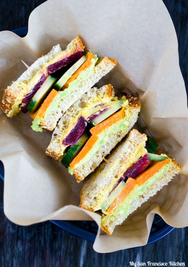 Healthy Vegan Sandwich