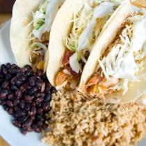 mango habanero chicken tacos