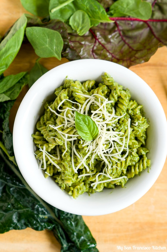 Power Greens Pesto