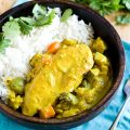 Chicken and Vegetable Yellow Curry