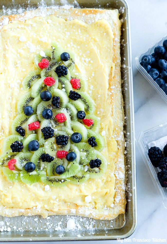 Holiday Fruit Tart