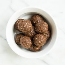Nutty Chocolate Date Balls
