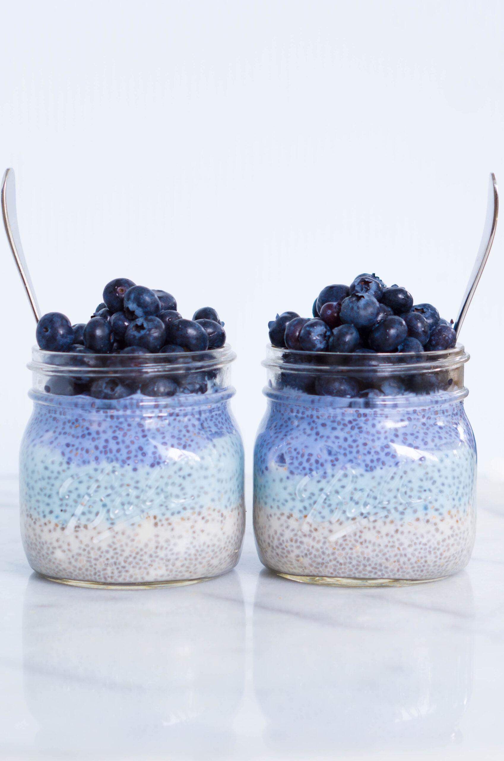 Blueberry Chia Pots