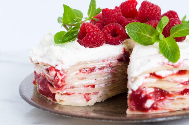 Vegan Crepe Cake
