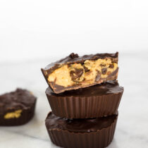 Vegan Cookie Dough Cups